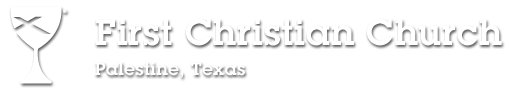 First Christian Church, Palestine Logo